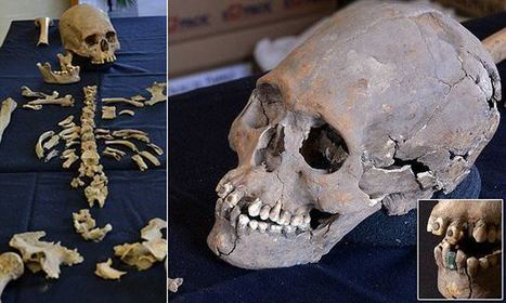 1,600-year-old skeleton of woman with JEWELS for teeth uncovered | Archaeology | Scoop.it