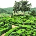 Man-made labyrinth of living green waves and balls | weirdworldfacts | Scoop.it