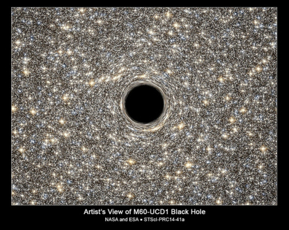 Hubble Helps Find Smallest Known Galaxy Containing a Supermassive Black Hole | Tout est relatant | Scoop.it