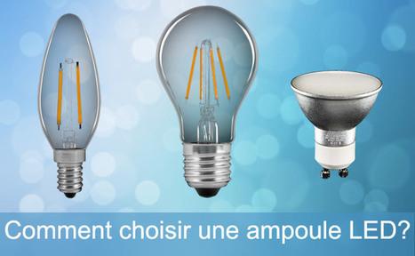 Comment choisir une ampoule LED ? Ledsdiscount, le blog | Econo-logis | Scoop.it