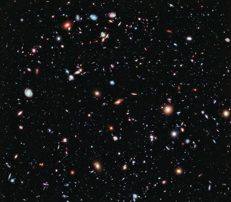 Revealing the Universe: the Hubble Extreme Deep Field | Visualisation | Scoop.it