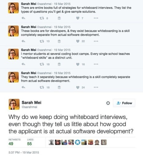 Why is hiring broken? It starts at the whiteboard. | International Talent Acquisition Explorer | Scoop.it