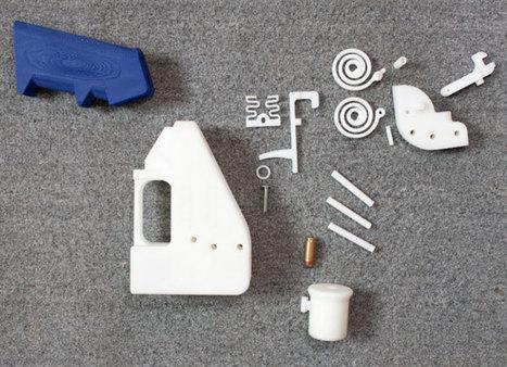 Vidéo : La police australienne craint les armes créées par les imprimantes 3D | Libertés Numériques | Scoop.it