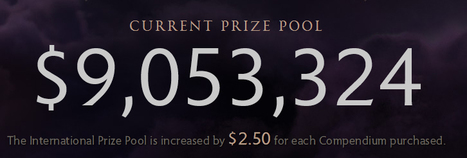 Dota 2 - The International Compendium prize pool reaches $9,000,000. Event held in Key Arena, Seattle. | DOTA2 TI4 Prize Pool has reached 9 million, when will it stop increasing?  (E-sport) | Scoop.it