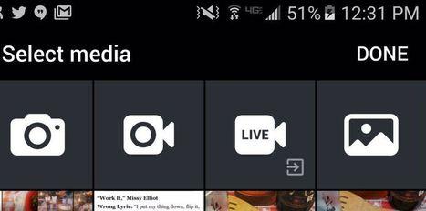 Twitter intègre (un peu) Periscope | Socialdigitalnews | Scoop.it