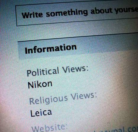 Political and religious views | Photography Gear News | Scoop.it