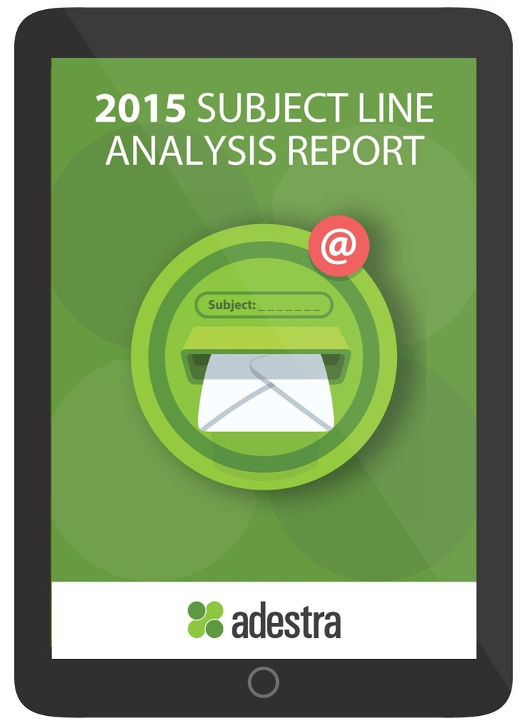 2015 Subject Line Analysis Report - Adestra | The Marketing Technology Alert | Scoop.it