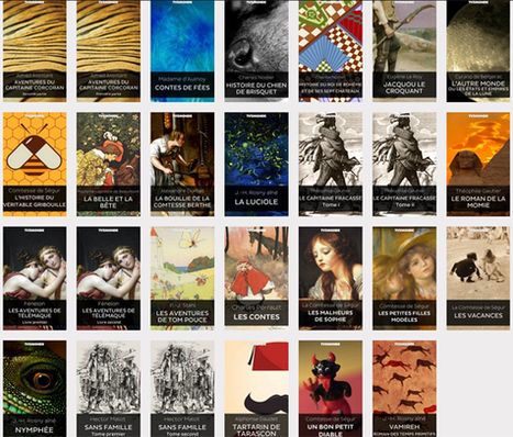 27 ouvrages lecture jeunesse en ligne (Epub et PDF)     Conseils lecture   Scoop.it