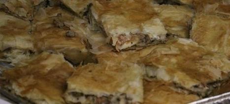 Κρεατόπιτα με μοσχάρι και χοιρινό σε φύλλο κρούστας της Τασίας | Greek traditional recipes | Scoop.it