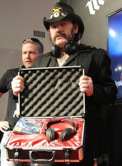 Lemmy Introduces 'Anti-Beats' Motorheadphones at CES | Billboard.biz | Kill The Record Industry | Scoop.it