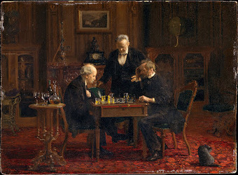The Streatham & Brixton Chess Blog: Chess in Art Postscript ... | Chess at school | Scoop.it