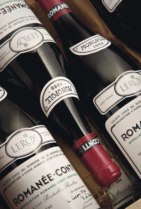 Romanee-Conti '88 Leads Christie's Wine Sale With Petrus   Vitabella Wine Daily Gossip   Scoop.it