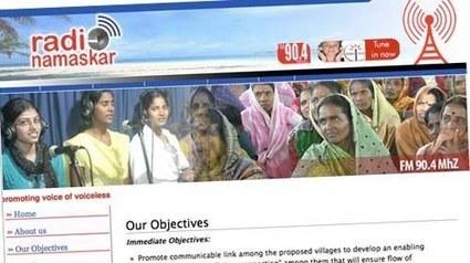 Radio Namaskar: luchando contra el abandono escolar en India a través del móvil | Periodismo Ciudadano | #EducaciónSocial20 | Scoop.it