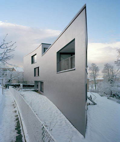 [Lausanne, Switzerland] Apartment Building in Chailly by Personeni Raffaele Schärer Architects | The Architecture of the City | Scoop.it