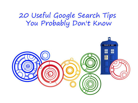 20 Useful Google Search Tips You Probably Don't Know | Google@walnut | Scoop.it
