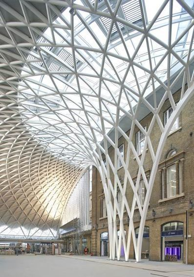 Western Concourse at King's Cross by John McAslan + Partners - Dezeen | Architecture and Architectural Jobs | Scoop.it