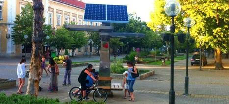 Strawberry Tree - the world's first public solar charger for mobile devices | Startups | Scoop.it