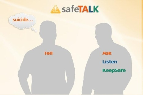 A Positive Approach to Teen Health Presents: safeTALK Workshop: Anyone Can ... - ValpoLife.com   Health & Positive Self-Image   Scoop.it