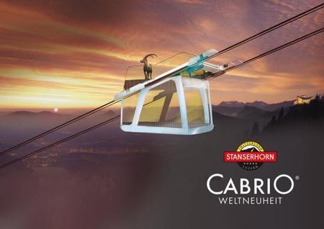 GANGLOFF Cabins :Exclusivité mondiale CabriO Stanserhorn | transports par cable - tram aérien | Scoop.it