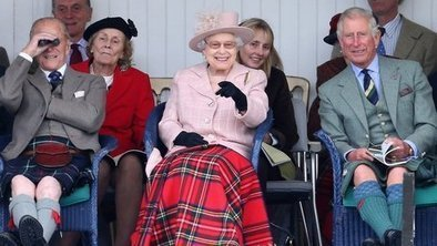 In Pictures: Queen at Braemar Games   All things Scottish   Scoop.it