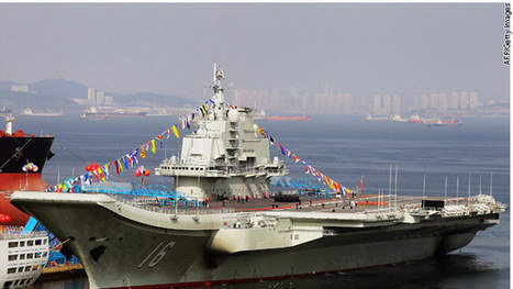 China lands first jet on aircraft carrier - CNN (blog) | Bonnie Topic | Scoop.it