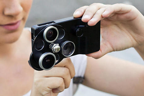 Juego de 3 lentes para iPhone. | MLKtoSCL | Scoop.it