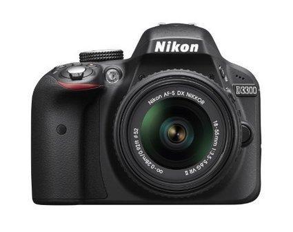 Nikon D3300 24.2 MP CMOS Digital SLR with AF-S DX NIKKOR 18-55mm f/3.5-5.6G VR II Zoom Lens (Black) | Electronics | Scoop.it