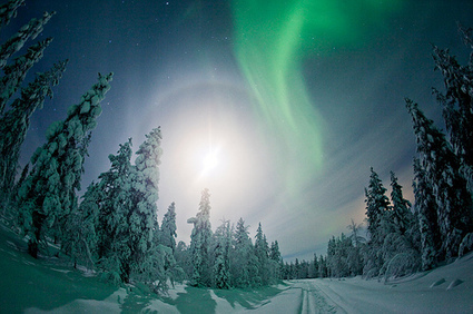 Northern Lights in Finnish Lapland | Finland | Scoop.it