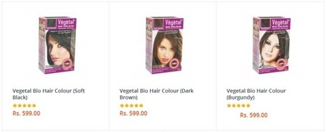 Organic Hair Color- myGREENkart Has The Best Collection Online! | Herbal and Natural Hair Color | Scoop.it