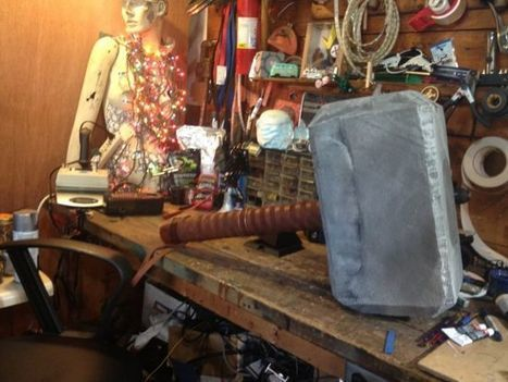 DIY Expert Build's His Very Own Thor's Hammer | Strange days indeed... | Scoop.it