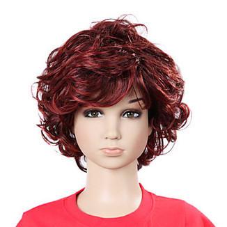 Capless Short High Quality Synthetic Wavy Children's Cute Wig – WigSuperDeal.com | kids wigs | Scoop.it