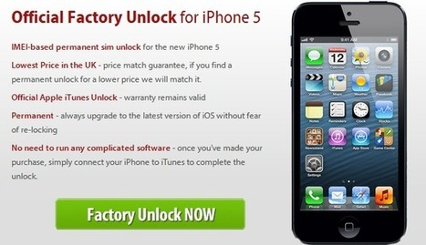 Unlocking an iPhone 5 AT&T For T-Mobile, Verizon, Sprint | Unlock IOS 6.1 iPhone 5 Baseband 3.04.25 | Scoop.it
