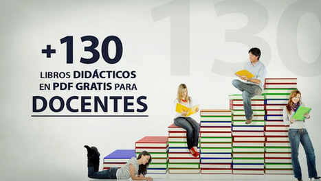+130 libros didácticos en PDF para docentes | Tools, Tech and education | Scoop.it