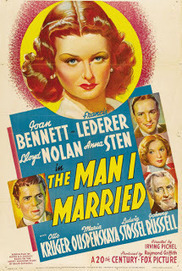 The Man I Married (1940) Joan Bennett Says 'Nazi Go Home' | Old Movies | Scoop.it