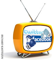 Facebook vs  Twitter Heavyweights Battle for Social TV   Richard Kastelein on Second Screen, Social TV, Connected TV, Transmedia and Future of TV   Scoop.it