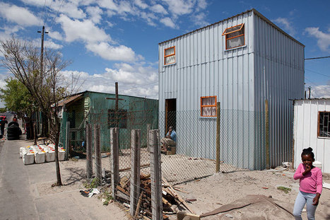 Urban Think Tank Introduces the Empower Shack to the Slums of Western Cape | sustainable architecture | Scoop.it