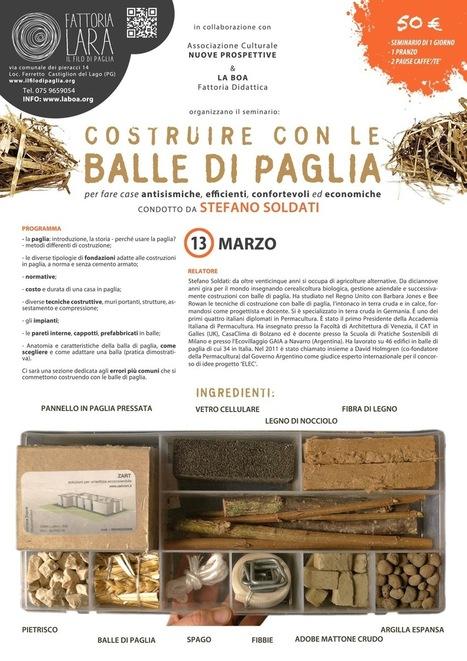 Progettare e Costruire con le balle di paglia | BIOEDILIZIA | Scoop.it