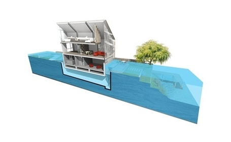 Climate-Proofing Urban Areas with Floating Housing | green streets | Scoop.it