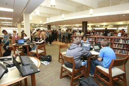 High School Library Design Ideas | Library Media Educational Technology | Scoop.it