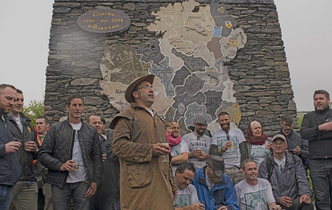 32 sculptors create 15-foot stone map of Ireland in Donegal | Of Interest to Friends of Ireland | Scoop.it