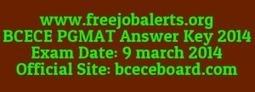 Download BCECE Answer Key 2014 @bceceboard.com | careerit jobs | Scoop.it