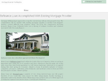 Refinance Loan Accomplished With Existing Mortgage Provider | smart consultancy india | Scoop.it