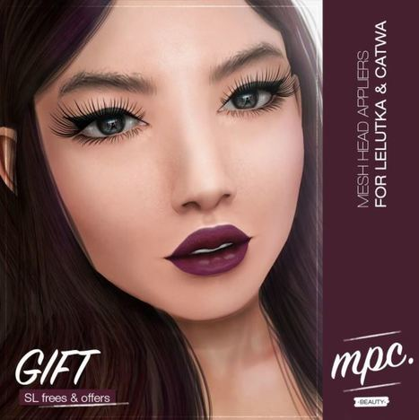 Honey Mesh Head Appliers For Lelutka And Catwa - NessMarket | 亗 Second Life Freebies Addiction & More 亗 | Scoop.it