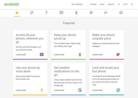 Google publie un site de trucs et astuces pour mieux utiliser Android - FrAndroid | Geeks | Scoop.it