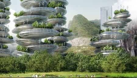 Sky-high horticulture:  Shenzhen's 'farmscraper' plan | Design Commercial | Scoop.it