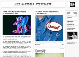 Sites We Like: The Electric Typewriter | Books, Authors, and Libraries | Scoop.it