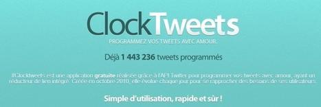Comment programmer un tweet avec clocktweet ? | Les tutos de l'informatique | Tendances Médias sociaux | Scoop.it
