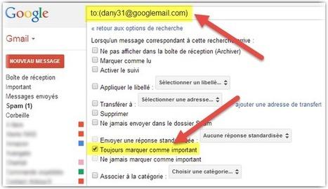 Une adresse Gmail = une infinité d'adresses | Scoop.it Sysico | Scoop.it