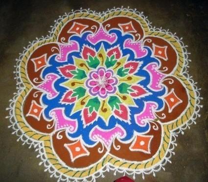 Diwali Rangoli Designs and Patterns | Latest Handicraft News | Scoop.it