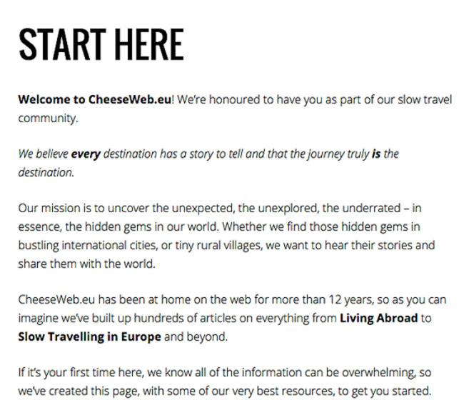 How to Write a High-Converting 'Start Here' Page - Copyblogger | Redacción de contenidos, artículos seleccionados por Eva Sanagustin | Scoop.it